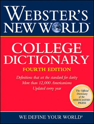 Webster S New World College Dictionary By Merriam Webster