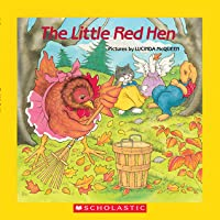 The Little Red Hen with Paperback Book(s)