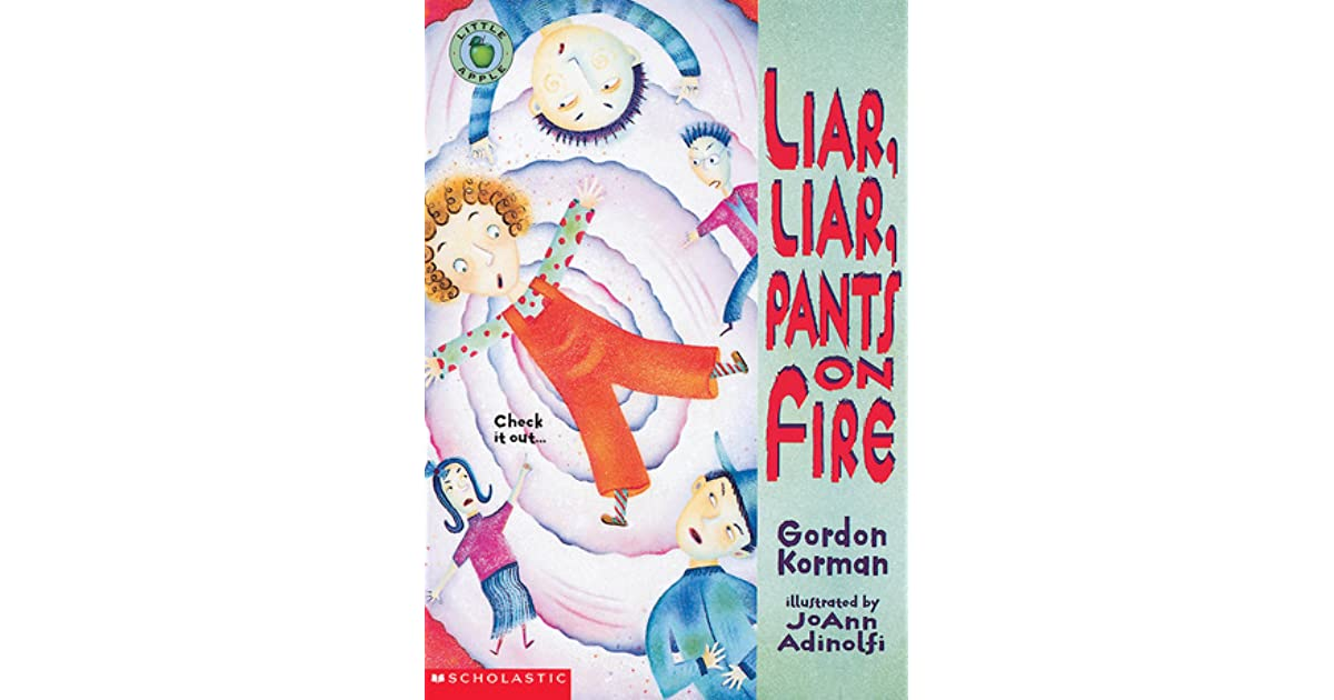 Liar liar pants on fire by gordon korman fandeluxe Images