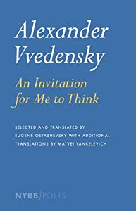 An Invitation for Me to Think: Selected Poems