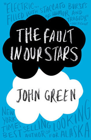 "Book cover of John Green's ""The Fault in Our Stars"""