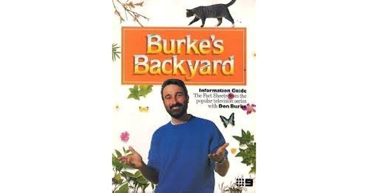 Burke Backyard burke's backyarddon burke
