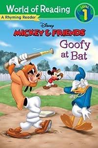 Mickey & Friends Goofy at Bat: A Rhyming Reader