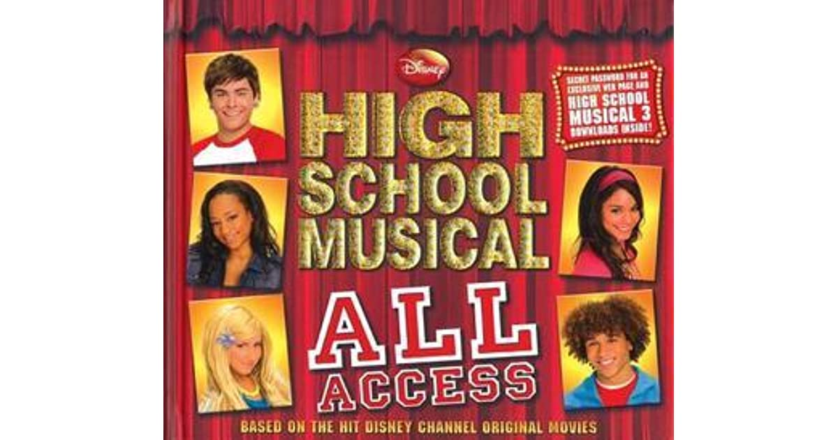 Disney High School Musical All Access By Peter Barsocchini