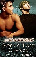 Rory's Last Chance (Love in Xxchange, #1)