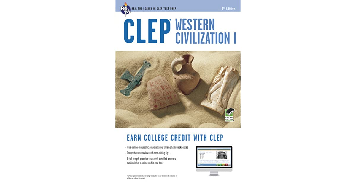 CLEP Western Civilization I With Online Practice Exams By