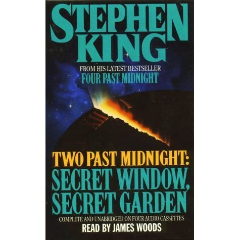 Two past midnight secret window secret garden by stephen for Window quotes goodreads