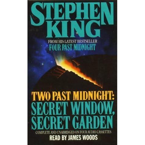 two past midnight secret window secret garden by stephen On window quotes goodreads
