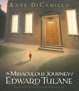 "Book cover of ""The Miraculous Journey of Edward Tulane"" by Kate DiCamillo"