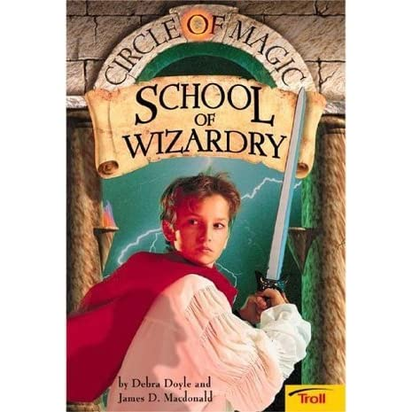 School of wizardry circle of magic 1 by debra doyle fandeluxe Image collections