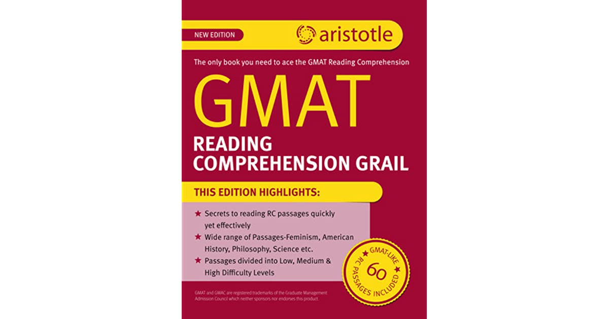 GMAT Reading Comprehension Grail by Aristotle Prep