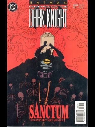 Batman Legends Of The Dark Knight #54 Comic DC 1993 Sanctum Mike Mignola Hellboy
