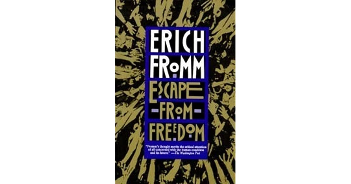 escape from dom by erich fromm