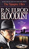 Bloodlist (Vampire Files, #1)