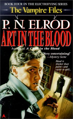 Art in the Blood (Vampire Files, #4)