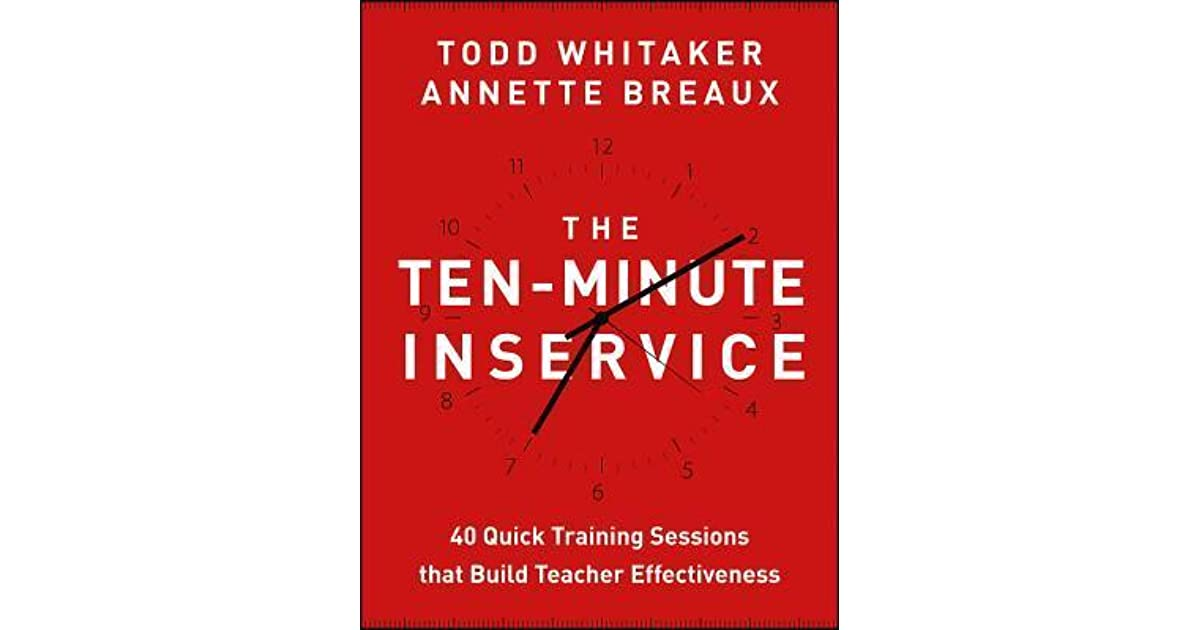Alex T.'s review of The Ten-Minute Inservice: 40 Quick ...