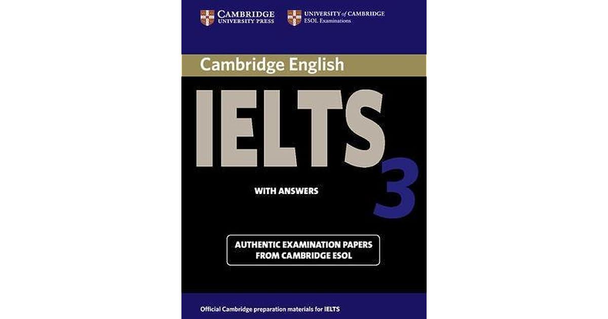Cambridge IELTS 3 Academic by University of Cambridge
