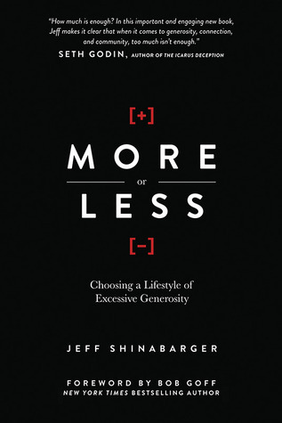 More or Less by Jeff Shinabarger