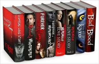 Ebook Vampire Box Set 8 Books By Ht Night