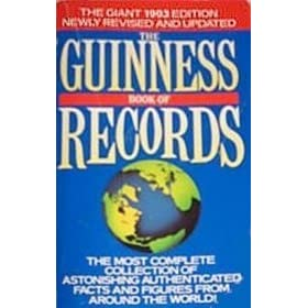 guinness book of world records 1993 by guinness world records