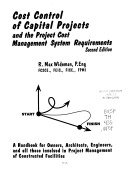 Cost Control of Capital Projects