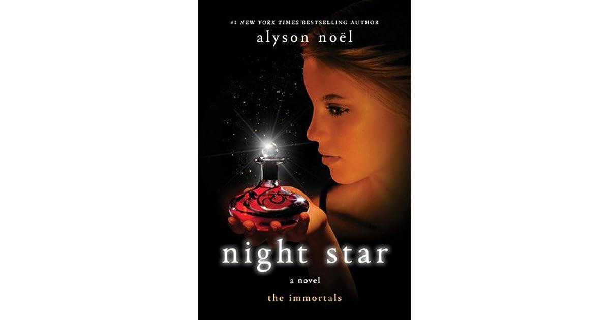 Ebook Night Star The Immortals 5 By Alyson Noel