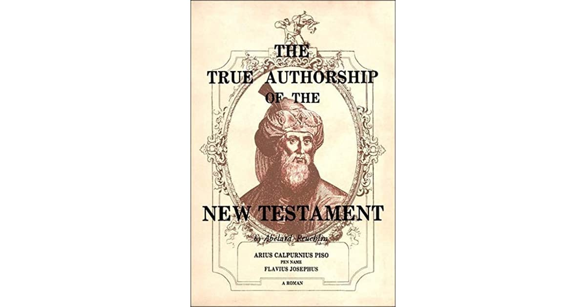 the true authorship of the new testament