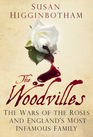 "Book cover of ""The Woodvilles"" by Susan Higgenbotham"