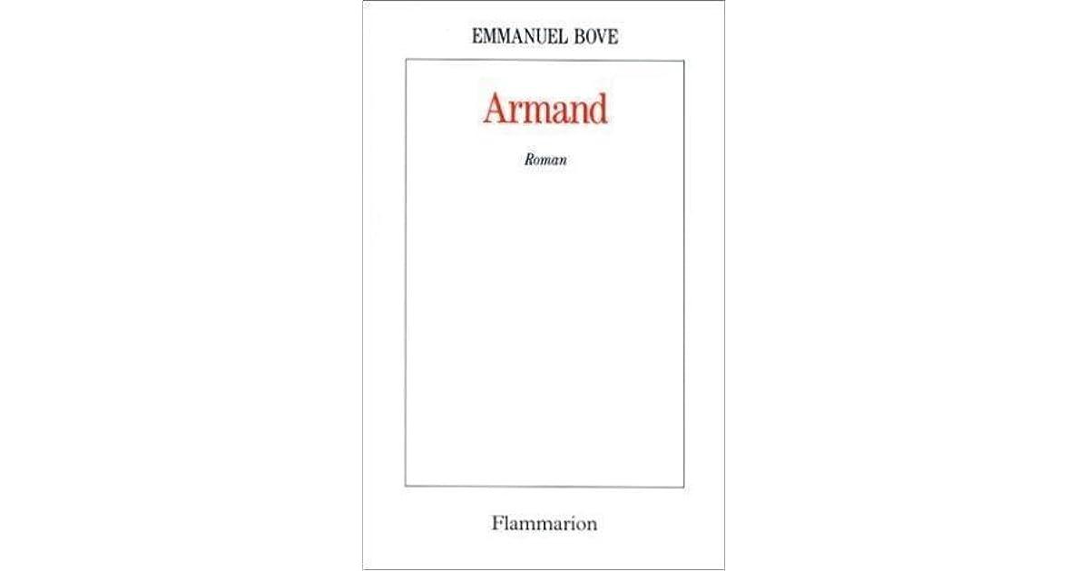 Armand By Emmanuel Bove