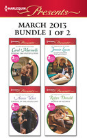 Harlequin Presents March 2013 - Bundle 1 of 2: Playing the Dutiful Wife / Expecting His Love-Child / A Reputation for Revenge / The Greek Billionaire's Baby Revenge / Captive in the Spotlight / Blackmailed Bride, Innocent Wife
