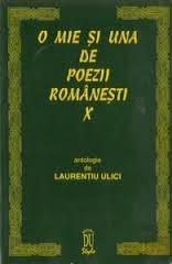 O mie şi una de poezii româneşti