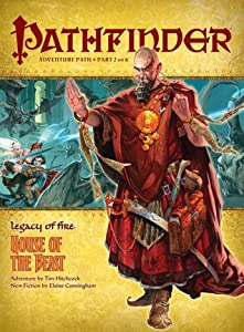 Pathfinder Adventure Path #20: House of the Beast (Legacy of Fire, #2)