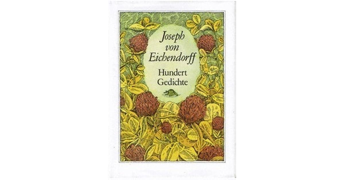 Hundert Gedichte By Joseph Von Eichendorff