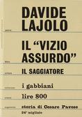 """Il """"vizio assurdo"""". Storia di Cesare Pavese"""