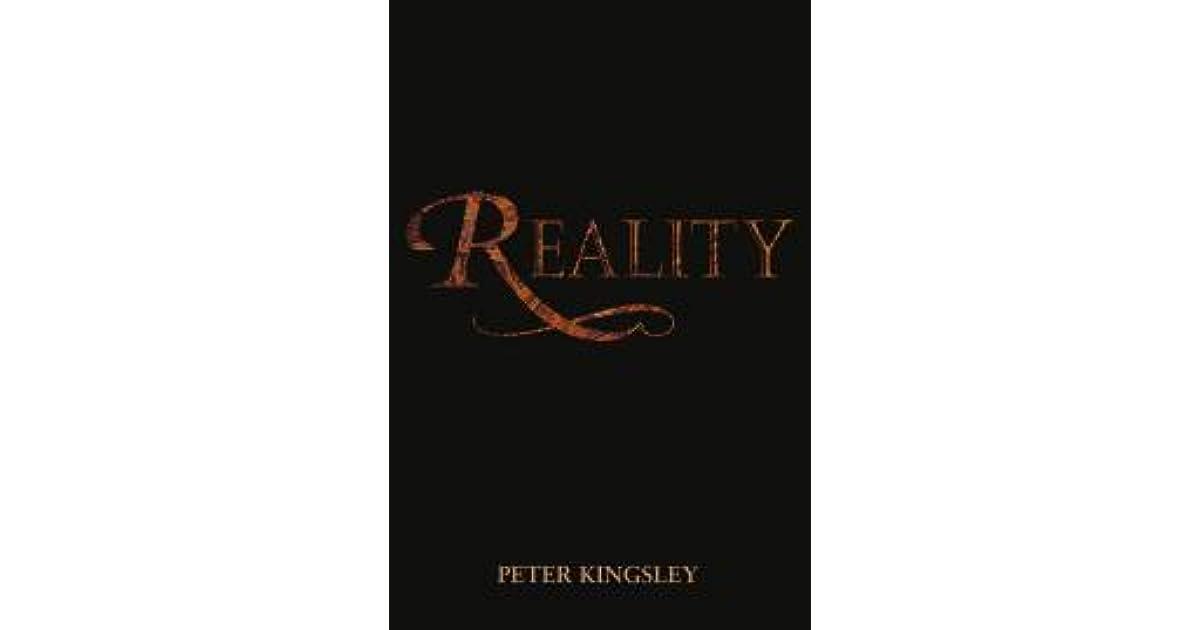 Resultado de imagen de reality peter kingsley