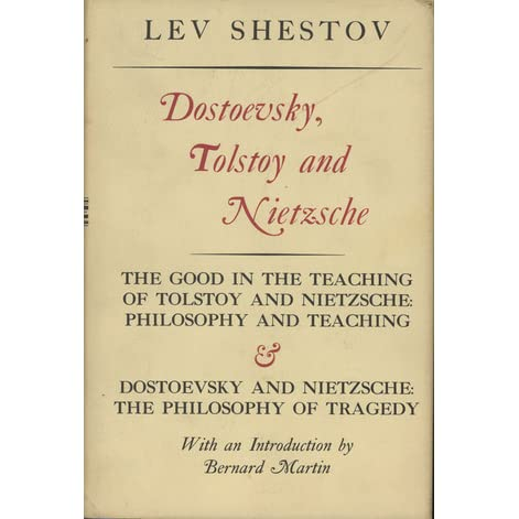 tolstoy and dostoevsky an essay in contrast