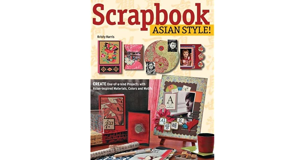 Asian scrap books
