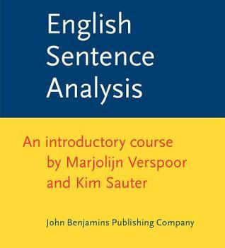 English Sentence Analysis An introductory course