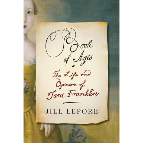 jill lepore letters based on new I 'cadwallader colden papers, 1741 : anonymous letter from a new  jill  lepore is associate professor of history at boston university and is co-founder  and co-editor of common-place, an interactive, web-based magazine of early.