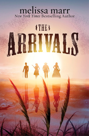 "Book cover of ""The Arrivals"" by Melissa Marr"