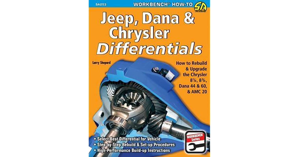 Jeep, Dana & Chrysler Differentials: How to Rebuild