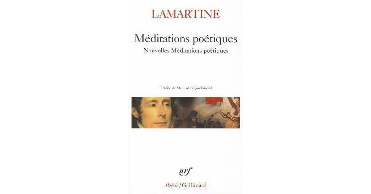 Méditations Poétiques Et Nouvelles Méditations Poétiques By