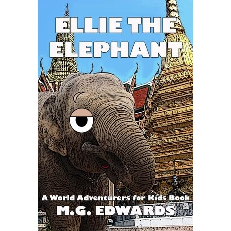 161a89faed8d7 Ellie the Elephant by M.G. Edwards
