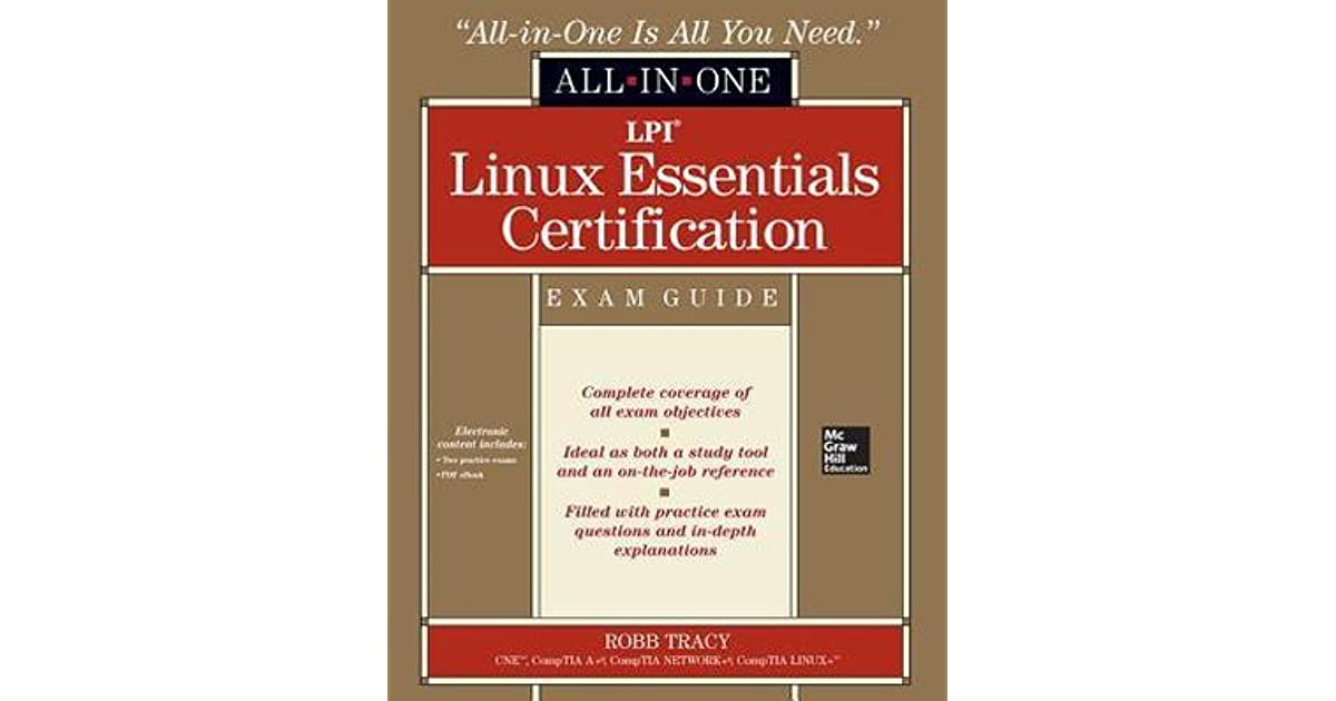 David Hallmans Review Of Lpi Linux Essentials Certification All In