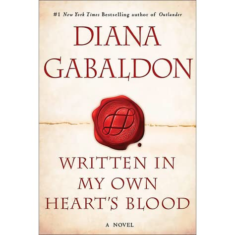 Written in My Own Heart's Blood (Outlander, #8) by Diana