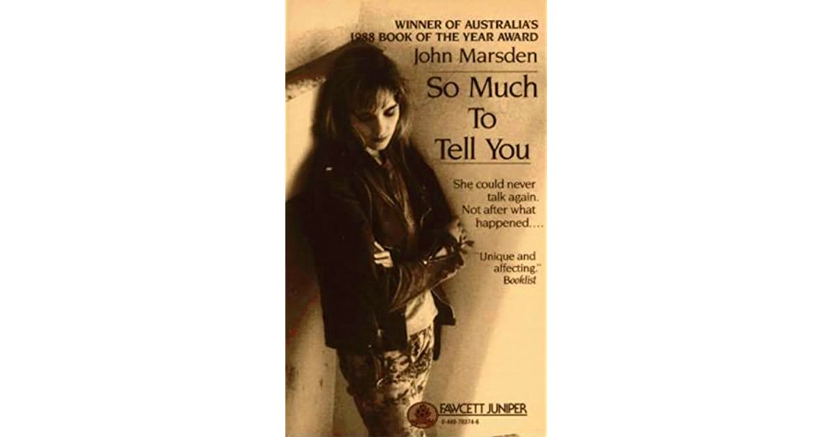 So Much to Tell You - Wikipedia