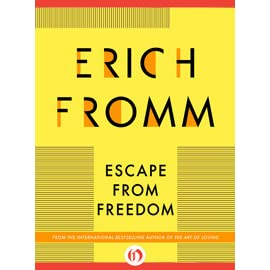 understanding fromms mechanisms of escape Fromm explores and presents the psychological and social mechanisms that lead an individual to be afraid of freedom and to prefer to give it up the first mechanism of escape from freedom i am going to deal with is the tendency to give up the independence of one's own individual self and to fuse one's.