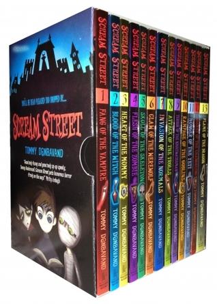 Scream Street Collection 13 Books Box Gift Set