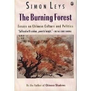 Essay Topics For High School English  Essay On English Literature also Research Paper Essay Examples The Burning Forest Essays On Chinese Culture And Politics By Simon Leys Essay Reflection Paper Examples