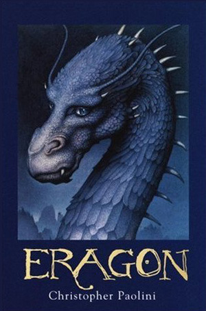 "book cover of ""Eragon"" by Christopher Paolini"